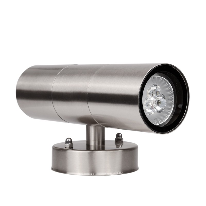 Wall Sconces That Shine Up And Down: Waterproof Stainless Steel Up Down GU10 LED Wall Light