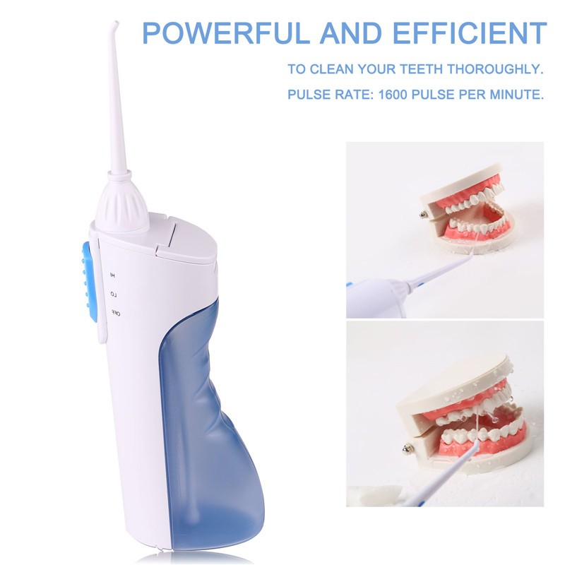 Cordless Ultrasonic Dental Water Jet Oral Irrigator