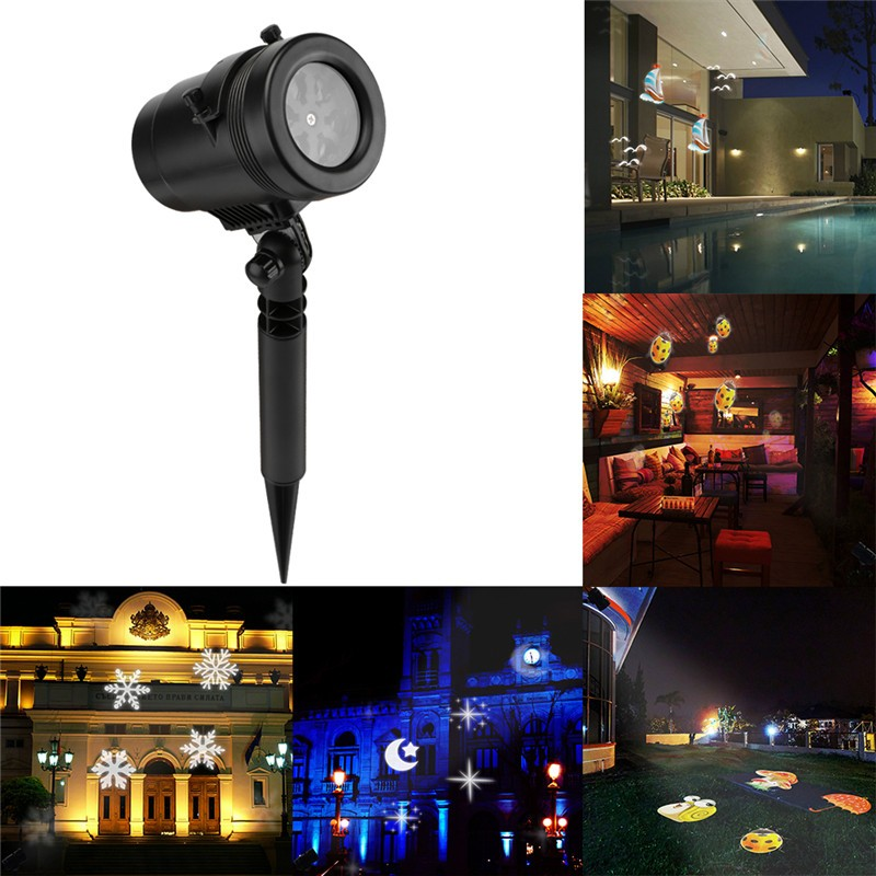 Waterproof LED Projector Light Lawn Light Wall Light With
