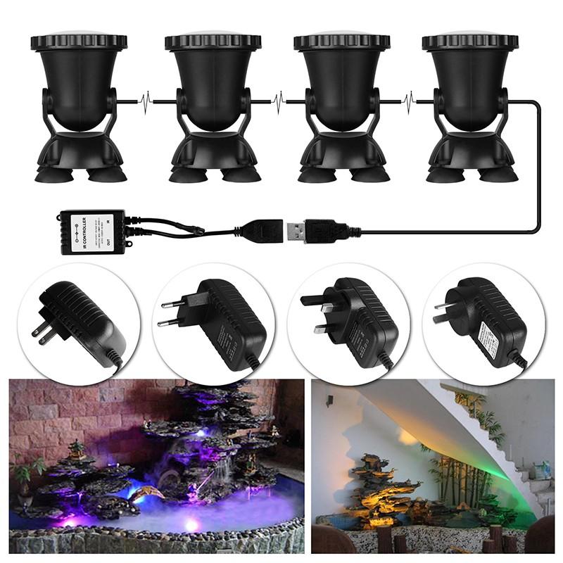 Led Lamps Dependable 4pcs Black Cover Ac85-265v Flat Lens Led Underwater Light Rgb Underwater Led Lamp Ip68 10w Pool Led Flashlight Lights & Lighting