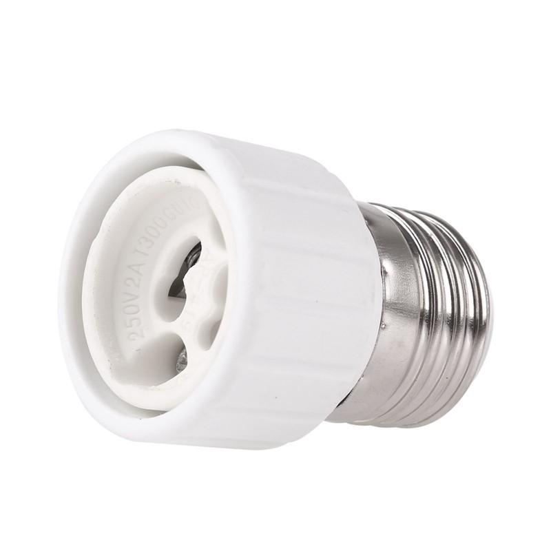 5pcs E27 To Gu10 Fireproof Connector Lamp Holder