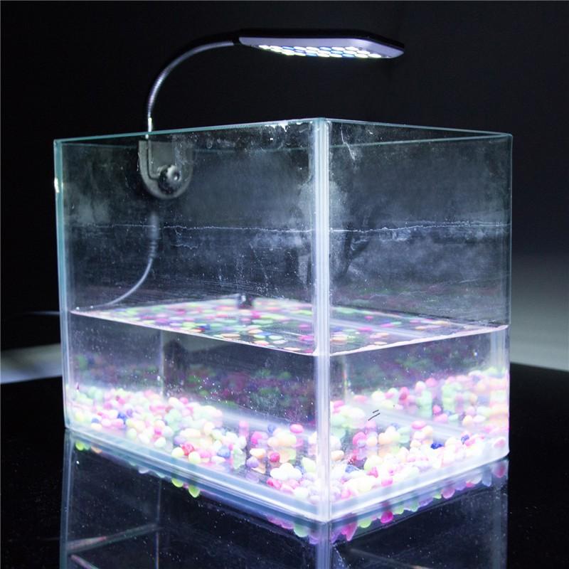 Lemonbest 24 leds aquarium lamp fish tank water plant for Blue light for fish tank