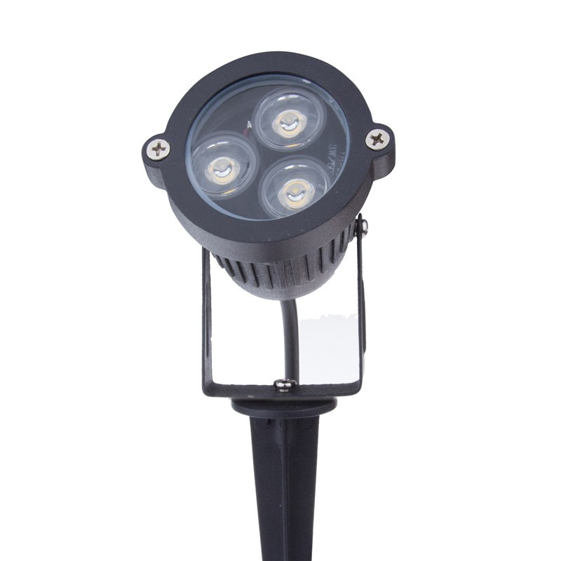 LemonBest-3*3W LED Muticolor Lawn Garden Flood Light Yard
