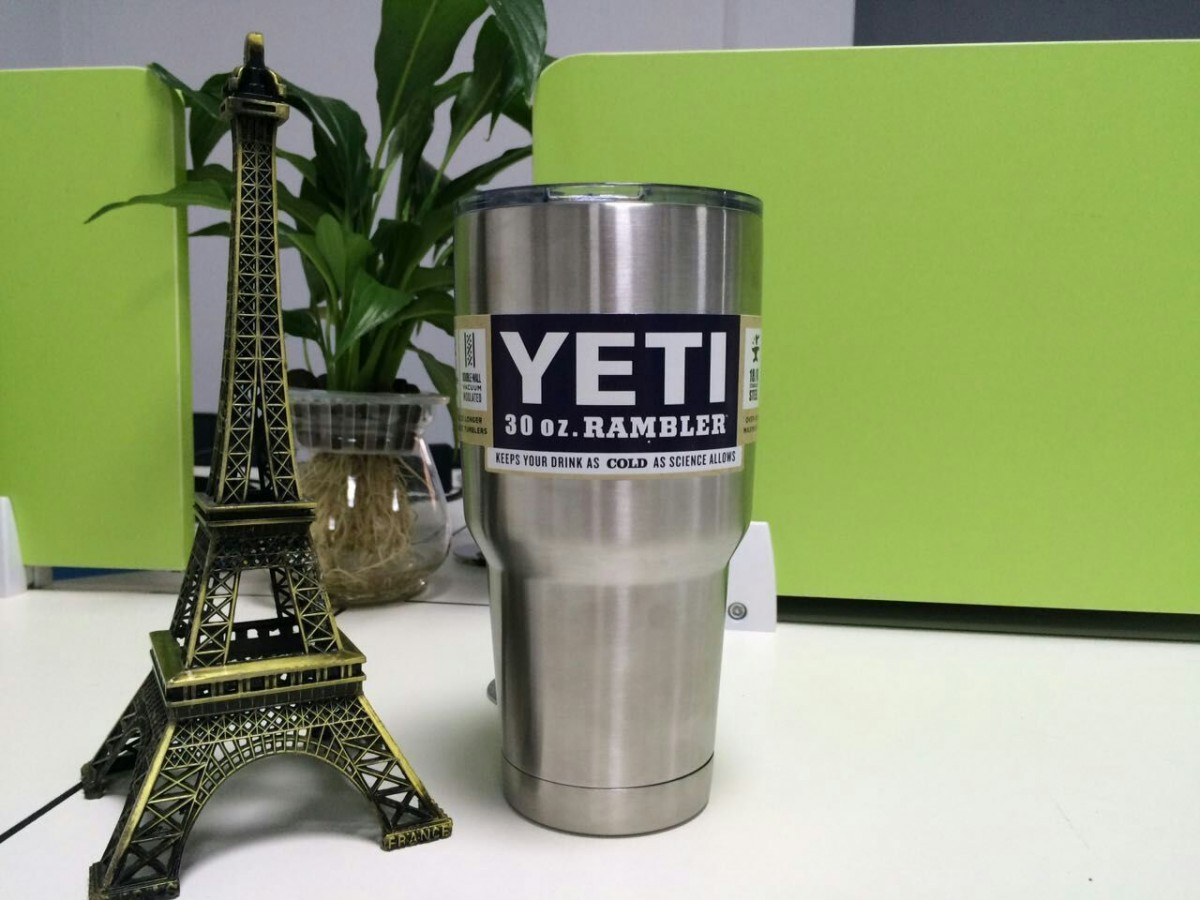Hot 20 30oz Yeti Rambler Cooler Tumbler Stainless Steel
