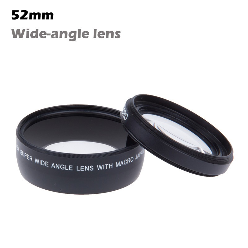 LemonBest HD 52MM Wide Angle Lens With Macro Lens For Canon Nikon Son