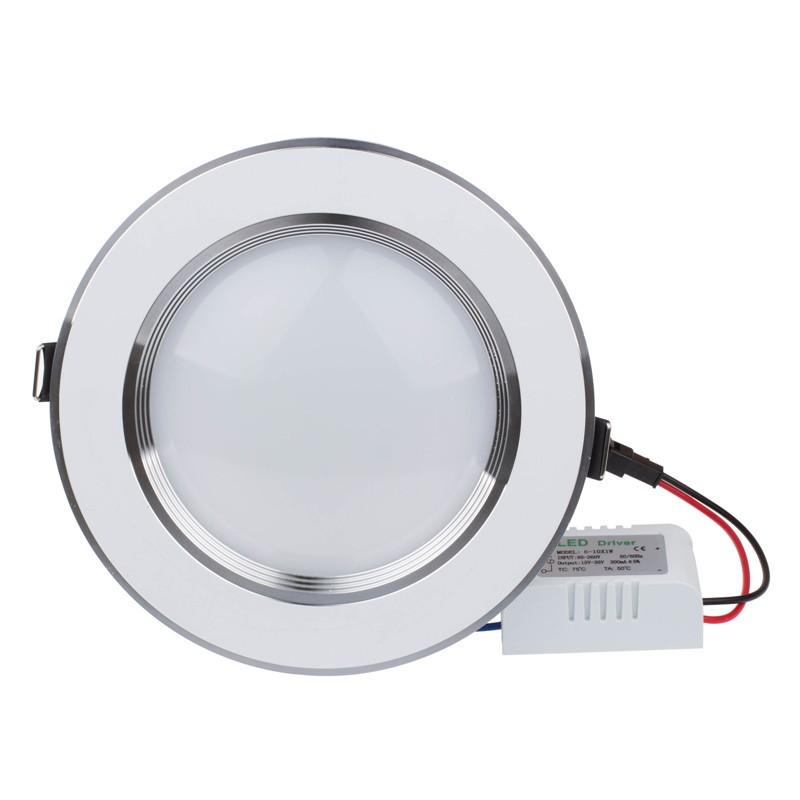 lemonbest ultra slim 3w 5w 7w 9w 12w led white downlight flat lens recessed ceiling light. Black Bedroom Furniture Sets. Home Design Ideas