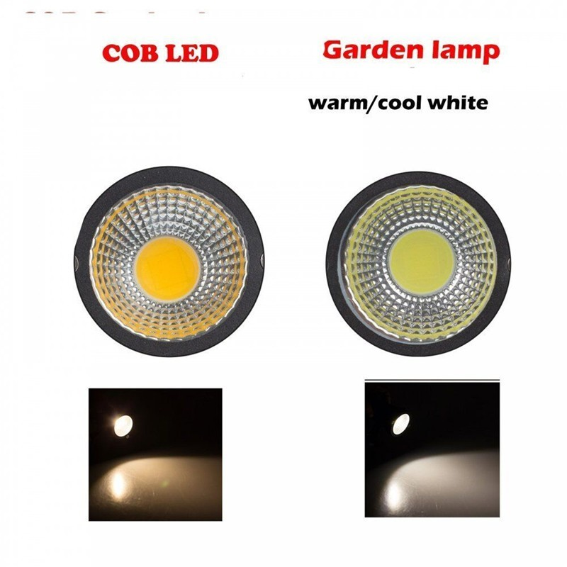 Lemonbest Waterproof 3w 5w Cob Led Lawn Garden Flood Light
