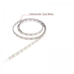 LemonBest-1m/3.3ft Waterproof 700LM 3528 SMD USB 60LED Strip Light String Lamp Cool White DC 5V