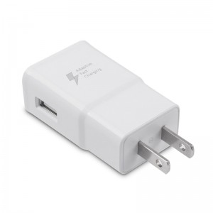 LemonBest-USB Adaptive Fast Charging Wall Charger Adapter EU Plug for Samsung   Galaxy S6 Edge Edge+ Note 4 Note5