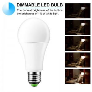15W RGBW LED Bulb E27 Color Changing Atmosphere Lighting LED Lamp Flash Strobe Fade Mode Bar KTV Decorative Lights