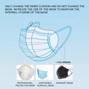 50pcs Mouth Mask Pad Round Disposable Mouth Mask Sheet