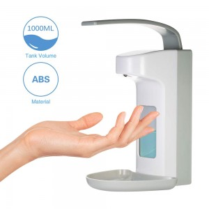 Wall Dispenser1000 ml Soap Dispenser Disinfection Dispenser Plastic Pump
