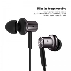 3.5mm 4th Generation Piston Hybrid Dual-Driver Earphone In-ear Headphone for Samsung iPhone HTC Sony