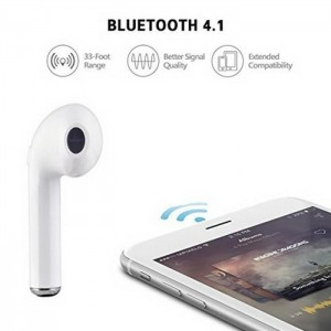 i7s Mini Bluetooth Earphone Wireless Earbuds With Charging Box Sports headset For Iphone X FOR Samsung S9 S9 Plus for Xiaomi