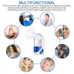 Home Health Care Portable Automizer Children Care Inhale Nebulizer Ultrasonic Nebulizer Humidifier Handheld Respirator Vaporizer