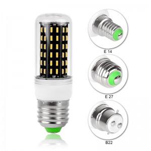 E27/E14/B22 4W/5W/6W/7W/8W LED Corn Light Bulb 4014 SMD Lamp AC 220V
