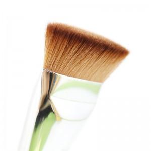 LemonBest-Flat Contour Brush Big Face Blend Makeup Brush Cosmetics Tools