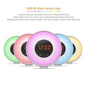 LED Sunrise Alarm Clock