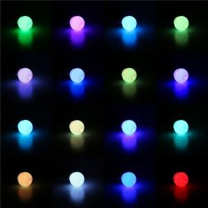 LemonBest-16 Colors 3W B22 Changing RGB LED Light Bayonet Bulb with Remote Control Lamp  AC85-240V