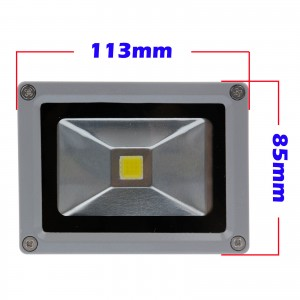 Lemonbest- Waterproof 10W Warm White/Cool White/RGB LED Flood Light Spotlight Lamp AC 100-245V for Outdoor Garden Landscape