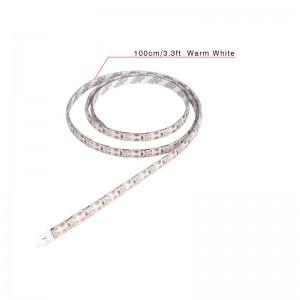 LemonBest-50cm/1.6ft Waterproof 500LM 3528 SMD USB 30LED Strip Light String Lamp Cool   White DC 5V