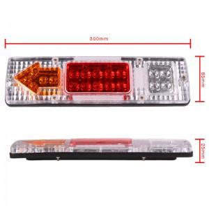 LemonBest-Waterproof 24V 19 LED Car LED Taillight Caravan Reversing Indicator Ligh