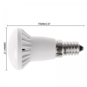 LemonBest-SMD5730 E14 R39 5W LED Bulb Cool / Warm White Light Lamp AC 85-265V