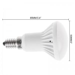 LemonBest-SMD5730 E14 R50 7W LED Bulb Cool/Warm White Light Lamp AC 85-265V