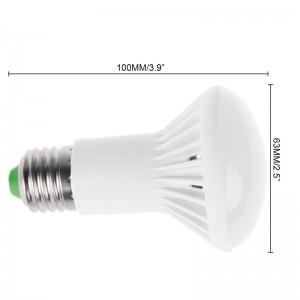 LemonBest-SMD5730 E27 R63 9W LED Bulb Cool / Warm White Light Lamp AC 85-265V