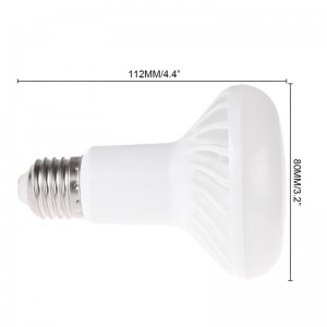 LemonBest-SMD5730 E27 R80 12W LED Bulb Cool White / Warm White Light Lamp AC 85-265V