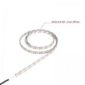 LemonBest-2m/6.6ft Waterproof 3528 SMD USB 120LED Strip Light String Lamp Cool White DC   5V