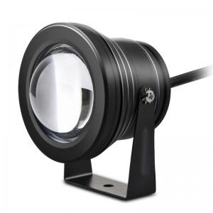 Lemonbest - 10W RGB LED Lawn Light Remote Control Garden Floodlight with Spike for Yard Patio Path Spotlight Lamp Waterproof AC 12V