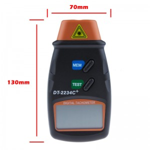 LemonBest-Digital Photo Laser Tachometer RPM Tester Handheld Non Contact Tach Tool