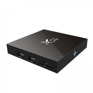 X96 4K Android 6.0 TV Box Amlogic S905X Set-top Box 2G/16G H.265 10Bit HDMI2.0 Wifi EU Plug