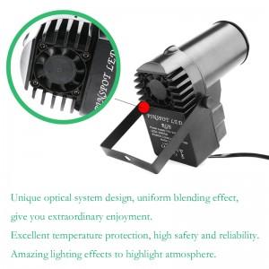 lemonbest -15 W RGB LED Stage Light Spotlight Professional DISCO KTV DJ Stage Lighting Effect AC90-240V