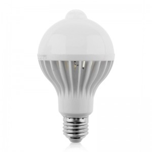 Lemonbest Motion Sensor Light Bulb E27 5W/ 7W / 9W LED Lighting LED lights Lamp Smart PIR Infrared Sensor Detection Night Lights Globe Bulb for Hallway Stairs Basement Porch Garage