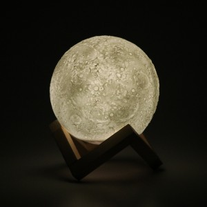 Night Light 3D Printing Moon Lamp