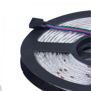 LemonBset - (Non-Waterproof) 5M/roll 300 LEDs RGB SMD 5050 Flexible led Strip Light with 44Keys IR Remote