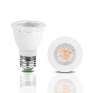 3W/5W E27 LED COB Bulb Spotlight Lamp Cool White/Warm White AC 85-245V