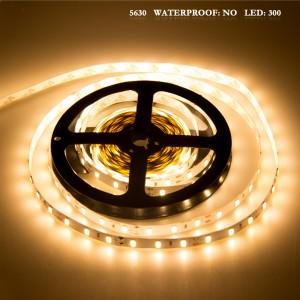 LemonBest - 5630 SMD 300LED Strip Light Lamp Warm White DC 12V