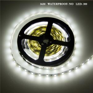 LemonBest - 75W 5630 SMD 300LED Strip Light Lamp Cool White DC 12V