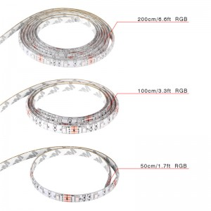 LemonBest-50CM/1M/2M Waterproof RGB 3528 SMD USB Strip Light String Lamp DC 5V