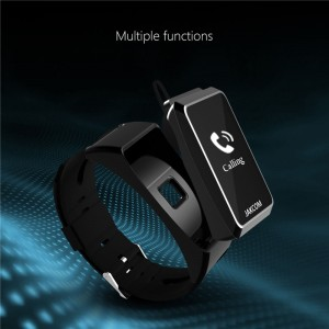 2 in 1 Jakcom B3 Smart Watch Bracelet Wristband + Bluetooth Earphone Heart Rate Monitor Pedometer Hands-free Call for IOS & Android Smartphone