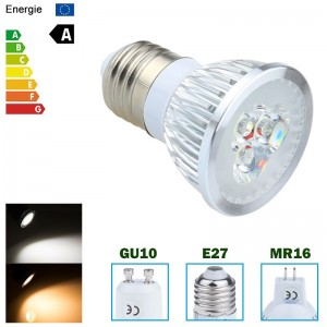 9W/12W/15W GU10/E27/MR16 Dimmable LED Bulb Spotlight Lamp Warm White/Cool White