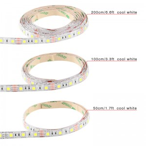 LemonBest-50cm/ 1m/ 2m Waterproof 5050 SMD USB LED Strip Light String Lamp
