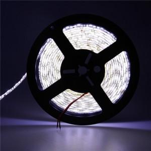Waterproof 5M 5050 SMD 300LED Strip Light Lamp Warm White/Cool White DC 12V