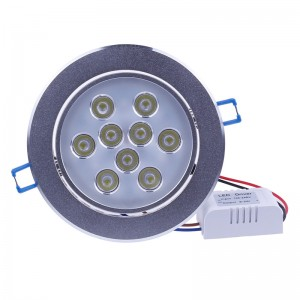 LemonBest - (Cool) 27W Recessed Cabinet LED Ceiling Downlight For Home Garden Business Illumination Decoration