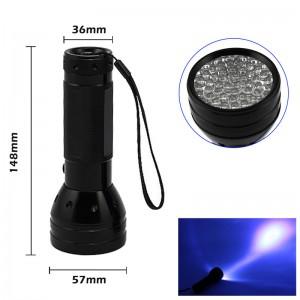 LemonBest-51 UV LED Blacklight Flashlight Torch for Scorpion Detector Hunter Finder Camping Fake Bills
