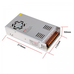 LemonBest - 30A 360W Voltage Transformer AC 110V/220V to DC 12V Power Supply Adapter Converter for Led Strip Control Led Switch LED Display