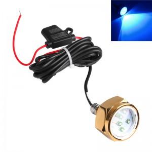 LemonBest-27W Boat Drain Plug Light 9 LED Boat Light Underwater Boat Lamp 1/2